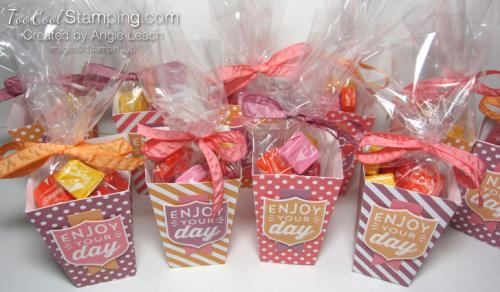 Popcorn boxes - ensemble 2
