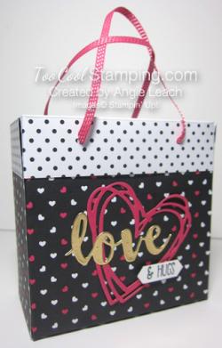 Pink love bag