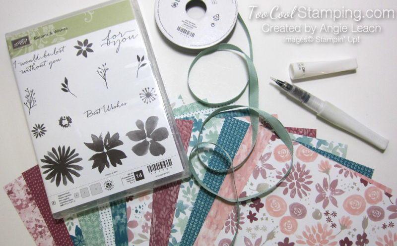 Blooms & wishes kit products