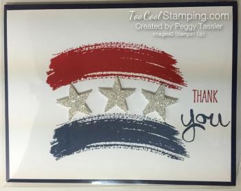 Work of art patriotic - peggy