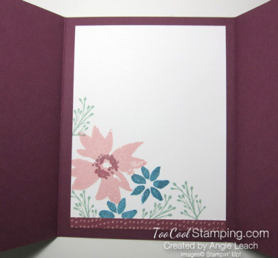 Blooms & wishes gate fold - sugarplum 3