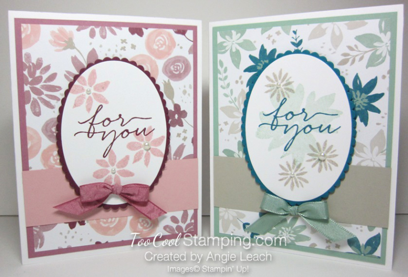 Blooms wishes tunnel card - two cool