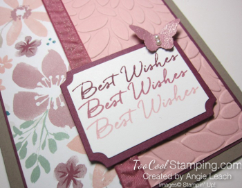 Blooms & wishes shimmery - blushing 2