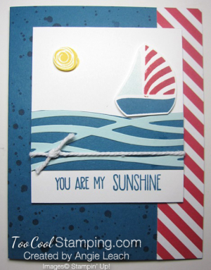 Swirly sailboat wishes- sunshine