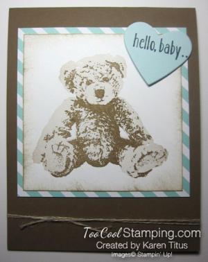 Teddy bear - karen titus