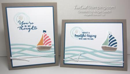 Swirly sailboat - two cool