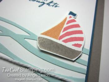Swirly sailboat - warm v3