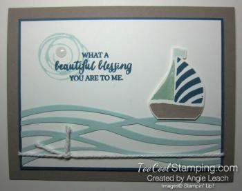 Swirly sailboat - cool h