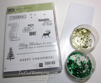 Greetings from santa kit contents