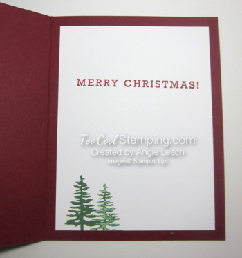 Greetings from santa - shaker inside 1
