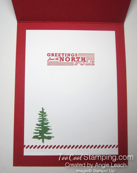 Greetings from santa - dazzle up 5