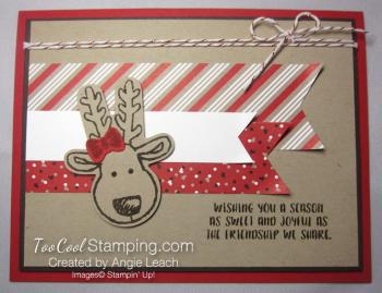 Cookie cutter christmas reindeer b - 1