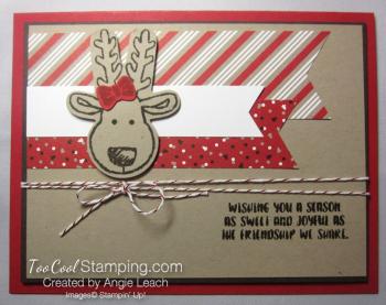 Cookie cutter christmas reindeer c - 1
