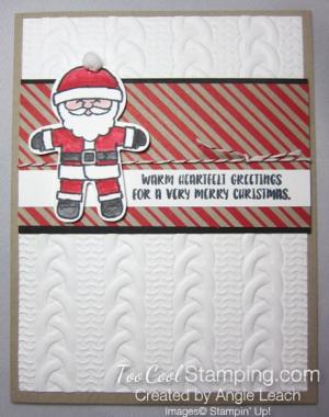 Cookie cutter christmas santa b - 1