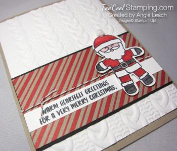 Cookie cutter christmas santa c - 2
