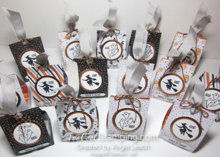 Spooky fun halloween treat totes - ensemble