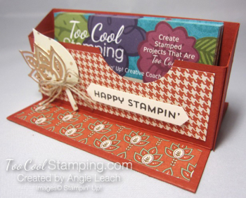 Paisleys business card holder 4