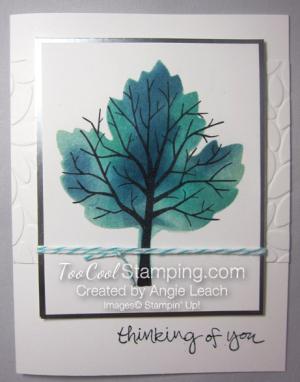 Sponged maple tree - thinking