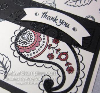 Amy - paisleys card 4