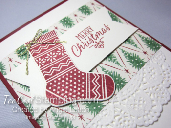 Hang your stocking traditional - red 2