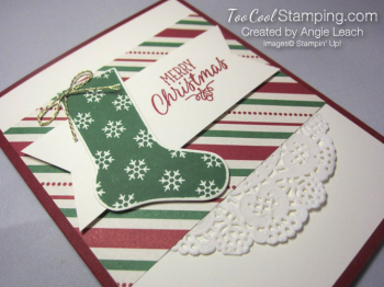 Hang your stocking traditional - green 2