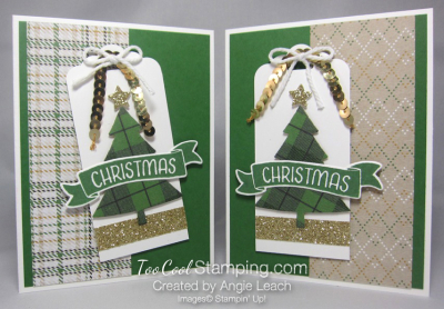 Warmth & cheer christmas pine - two cool