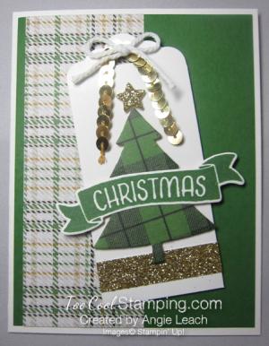 Warmth & cheer christmas pine - angle