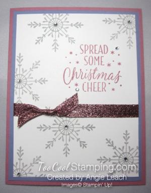Tin of tags sparkle - plum wisteria