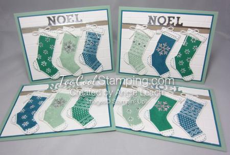 Mint noel trio - four cool