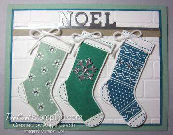 Mint noel trio - emerald 1