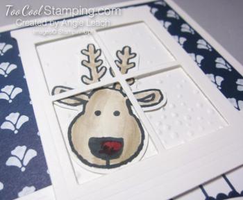 Peeking reindeer left 4