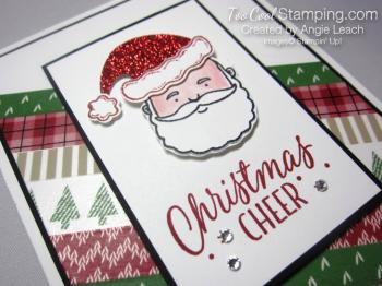 Jolly santa cheer - diagonal 3