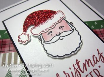 Jolly santa cheer - diagonal 2