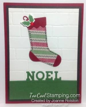 Hang Your Stocking Noel PS - Joanne Rolston