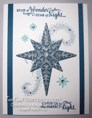 Regal star of light - indigo