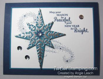 Star of light - navy h