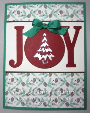 JOY pines - red joy