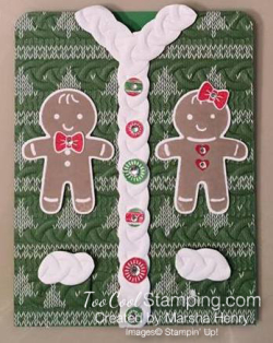 #4 - Marsha's Ugly Sweater Card 1