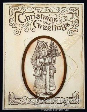 Father Christmas Greetings Card