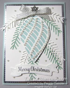 Peggy OTT embellished ornament