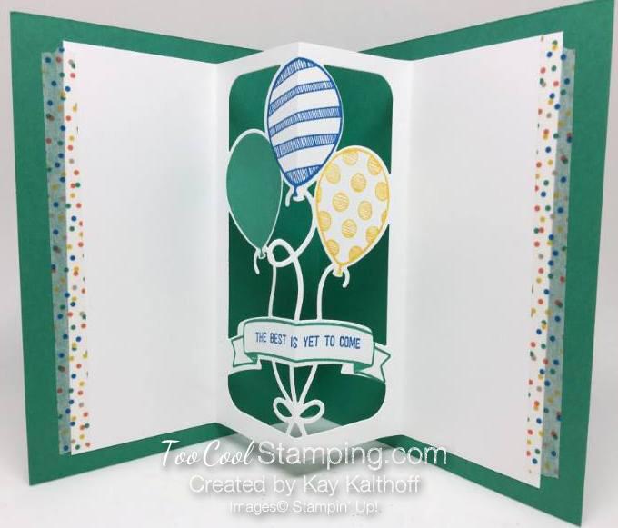 Balloon Adventures Pop Up Card 2 - Kay Kalthoff