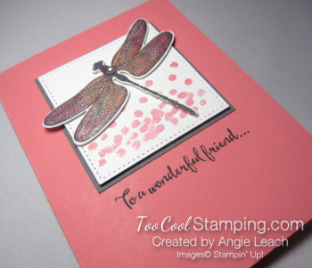 Shimmery dragonfly dreams - flamingo 2