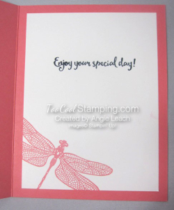 Shimmery dragonfly dreams - flamingo 4