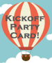 Kickoff Party Card logo