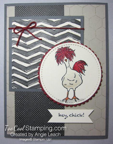 Hey chick chicken wire - funky chicken