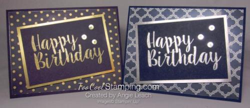 Big on Birthdays Fabulous Foil - two cool