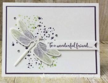 Dragonfly Dreams Wonderful Friend Card - Susan Best