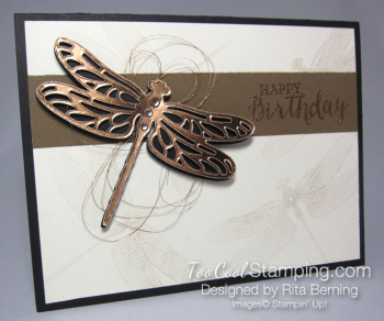 Rita - dragonfly dreams copper