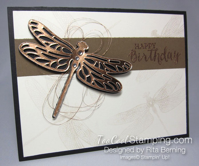 Rita - dragonfly dreams copper
