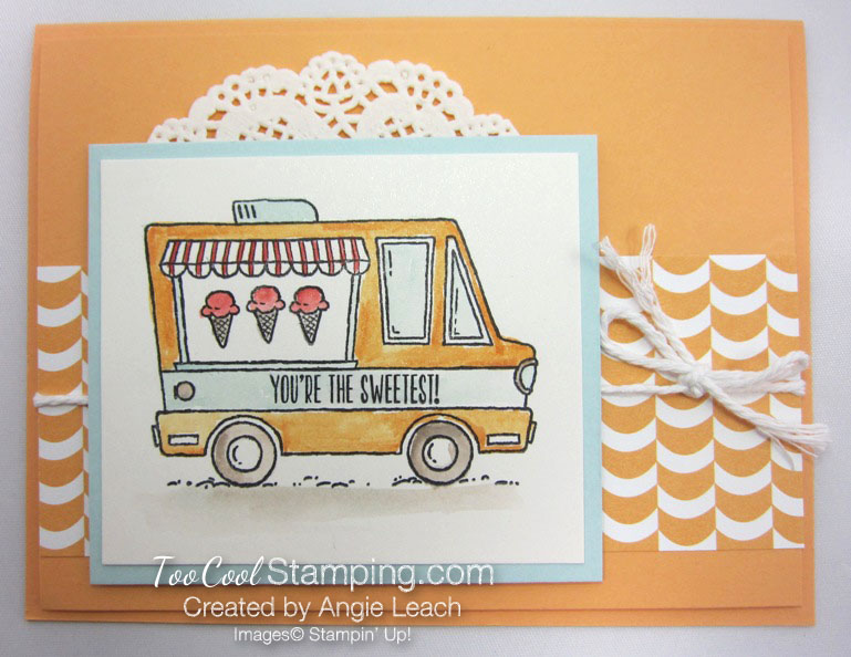 Tasty trucks sweetest - peach